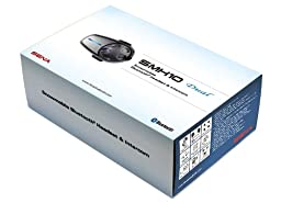Sena SMH10-D-01SM Snowmobile Bluetooth Headset / Intercom with Boom and Wired Microphone (Dual)