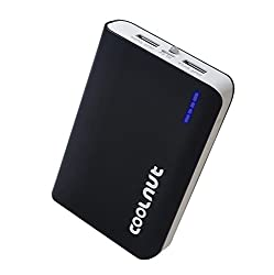 COOLNUT® 10000mah Branded Power Bank For All Smartphone (Black)
