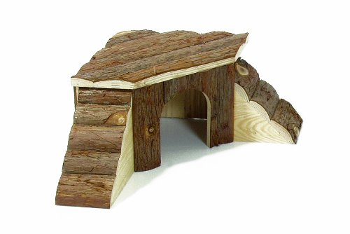 Karlie-Wonderland-Nature-Wood-House-with-2-Ladders-for-Rabbit-Large