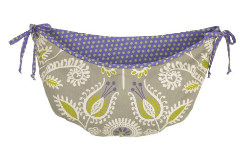 Cotton Tale Designs Toy Bag, Periwinkle