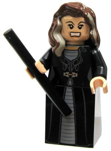 Narcissa Malfoy - Lego Harry Potter Minifigure with Black Wand - 1