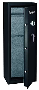 SentrySafe G1459E 14-Gun Electronic Lock Safe, Black Powder Coat