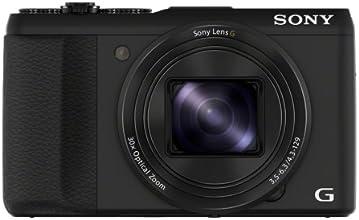 """Sony DSC-HX50 Appareil photo numérique 3D Ecran 3"""" 20 Mpix Zoom optique 30 x HDMI WiFi USB Noir"""