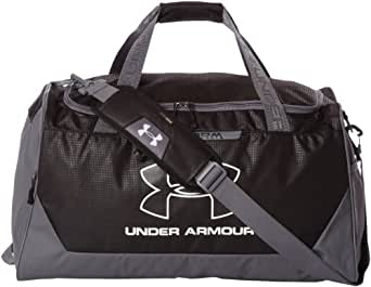 Under Armour UA Hustle Storm MD Duffle Bag One Size Fits All Black