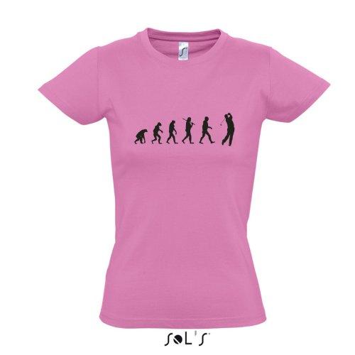 Damen T-Shirt - EVOLUTION - Golf Sport FUN KULT