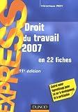 echange, troc Véronique Roy - Droit du travail 2007