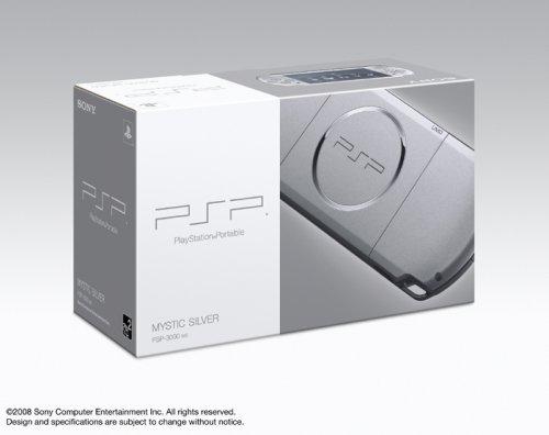 PSP「プレイステーション・ポータブル」 ミスティック・シルバー(PSP-3000MS)