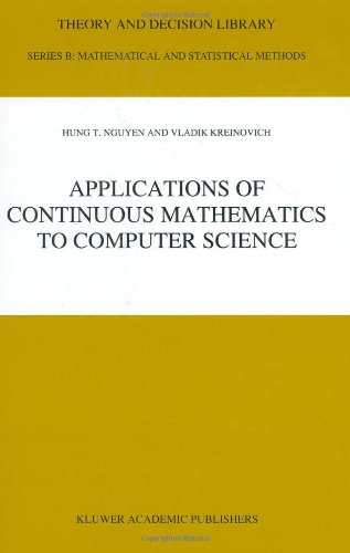 Applications of Continuous Mathematics to Computer Science