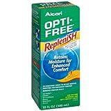PACK OF 3 EACH OPTI-FREE REPLENISH MULTI-SOLU 10OZ PT#65035610