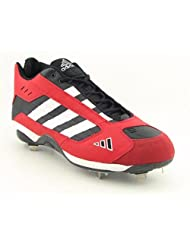 Adidas Excelsior Mid Baseball Cleats Baseball Cleats Shoes Red Mens