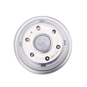 HDE® Motion-Detecting LED Light w/ IR Radial Sensor