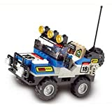 Hohong - Children Intellect training / Smart Thinking Training Plastic Blocks - Ultimate Off-Road Car