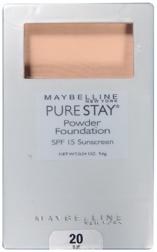 Maybelline pure Foundation de New York Stay