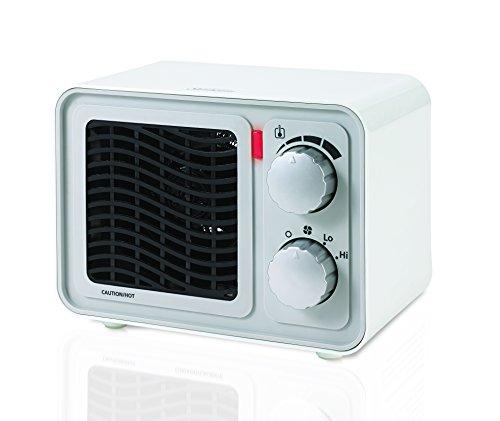 Sunbeam SFH5264MW-UM Retro Radio Heater Fan, Small, White (Sunbeam Fan Forced Heater compare prices)