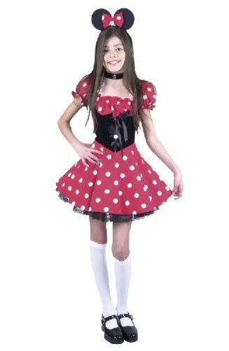 Cute Child Little New Miss Mouse Costume
