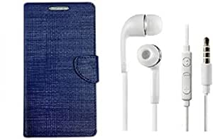 ZYNK CASE FLIP COVER BLUE WITH HEADPHONE WHITE FOR LeEco Le 2