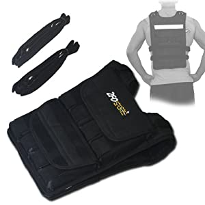 ZFOsports® - 40LBS ADJUSTABLE WEIGHTED VEST by ZFOsports