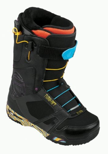 New Flow Rift Quickfit Mens All Mountain Freestyle Advanced Snowboard Boots 2013 (U.S. Men size 11.5)