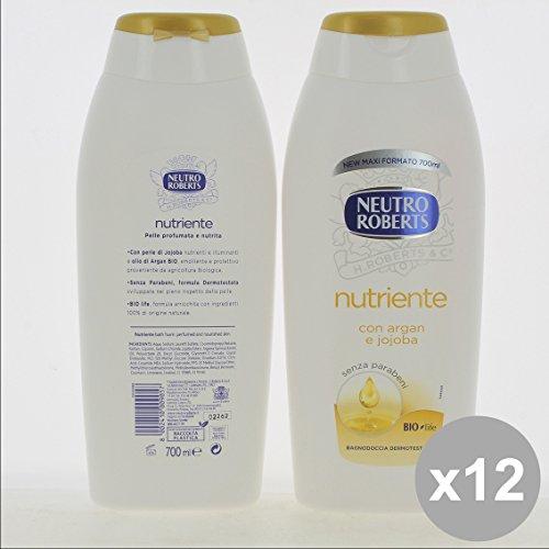 Set 12 NEUTRO Roberts Bagno 700 Nutriente - Cura del Corpo