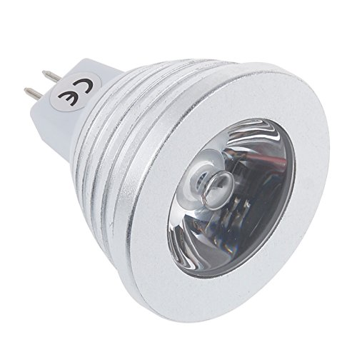 S6Store® 3W Rgb Mr16 16 Colors Changing Remote Control Holiday Flash Party Led Spot Downlight Christmas