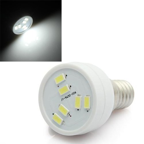 TOOGOO(R) E14 2W 6 LED 5630 SMD Lampe Strahler Leuchte Spot Beleuchtung 160LM 6500K Weiss