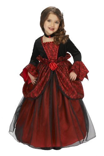Just Pretend Kids Vampire Princess Costume with Hoop and Choker, Large
