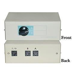 RJ45, AB 2 Way Switch Box
