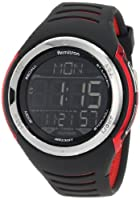 Armitron Men's 40/8250RED Round Red And Black Double Injected Digital Sport Watch from Armitron