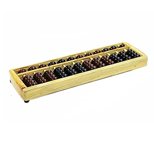 School Office Calculation Japanese Soroban Wood Abacus - 1