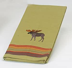 Kay dee designs embroidered moose tea towel Kay dee designs kitchen towels