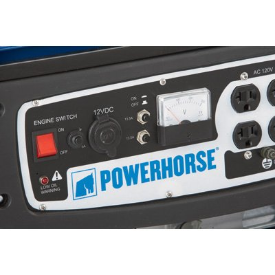 Powerhorse 4000 Switch and Meter