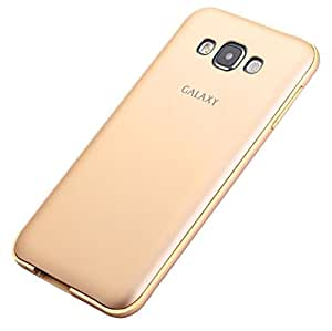 WebKreature Gold Bumper Case with Back Cover for Samsung Galaxy Grand Prime SM-G530H