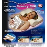 Contour Memory foam pillow with washable terry coverby Viceroy