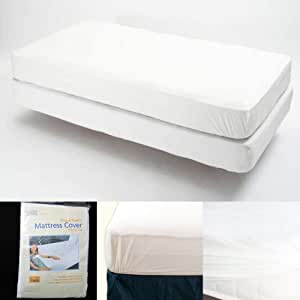 Amazon Twin Size Fitted Mattress Cover Vinyl
