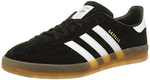 Adidas Gazelle Indoor Scarpe Low-Top, Uomo, (nero), 45 1/3