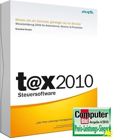 T@x 2010 Standard (für Steuerjahr 2009)