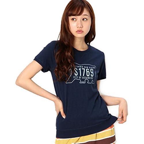 (コーエン) COEN ロゴリブTシャツ 76256125036 79 Navy M