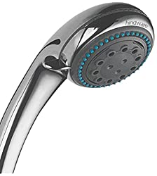 Hindware Showers 3-Flow 150cm Brass Hand Massage Shower with Double Lock Plated Stainless Steel Flexible Hose and Adjustable Wall Hook (Chrome)