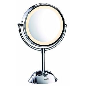 Babyliss 8438e espejo de doble cara con base 8 aumentos for Espejo 8 aumentos