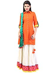 Arya The Design Gallery Women's Cotton Dress - B0144OR0J6