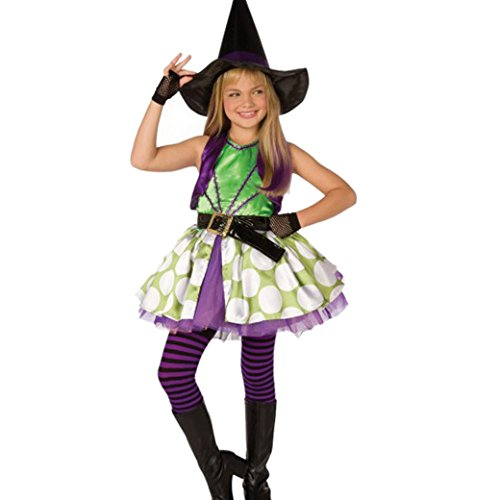 [Happy Cherry Girls Deluxe Wicked Green Witches Costume Cosplay Exhibition Suit Size L] (Western Day Dress Up Ideas)