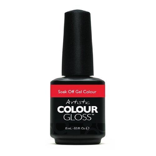 Artistic Nail Design Soak Off Colour Gloss Manicure Polish Hot Pink 03118 Sexy