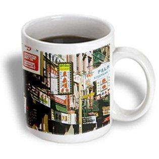 3Drose Nyc Chinatown Ceramic Mug, 15-Ounce