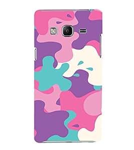 EPICCASE Color Spat Mobile Back Case Cover For Samsung Tizen Z3 (Designer Case)