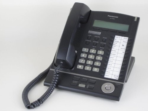 Panasonic KX-T7633-B Digital Telephone Black 3-Line LCD Proprietary Phone (Panasonic Xdp compare prices)