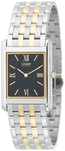 Citizen Men's Eco-Drive Stiletto Two-Tone Watch #AR1004-51E