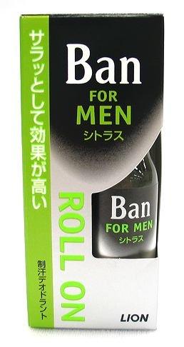 バン 男性用 ロールオン シトラス 30ml