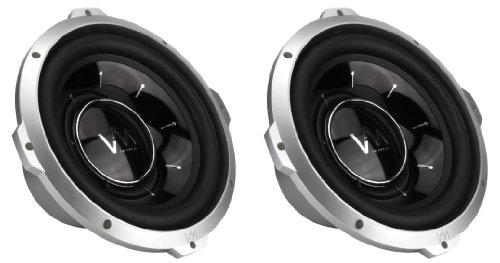 "2 Vm Audio Srw10 10"" 1600W Car Subwoofers Power Subs Woofer Dvc 4 Ohm 1600 Watts"