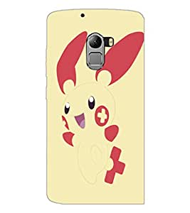 PrintDhaba Bunny D-5145 Back Case Cover for LENOVO K4 NOTE A7010a48 (Multi-Coloured)