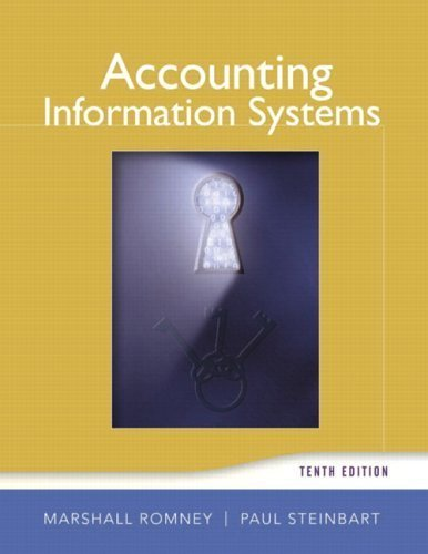 Accounting Information Systems (10th Edition) [Hardcover]